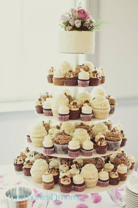 Six alternatives to the classic wedding cake ascot house for Wedding canape alternatives